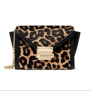 Michael Kors Whitney Leopard ConvertibleCrossbody